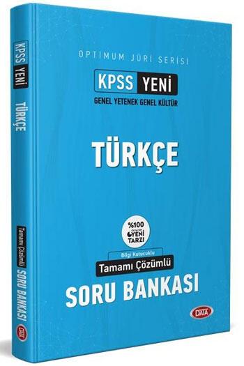Data Yayınları 2021 KPSS Optimum Jüri Serisi Türkçe Çözümlü Soru Bankası