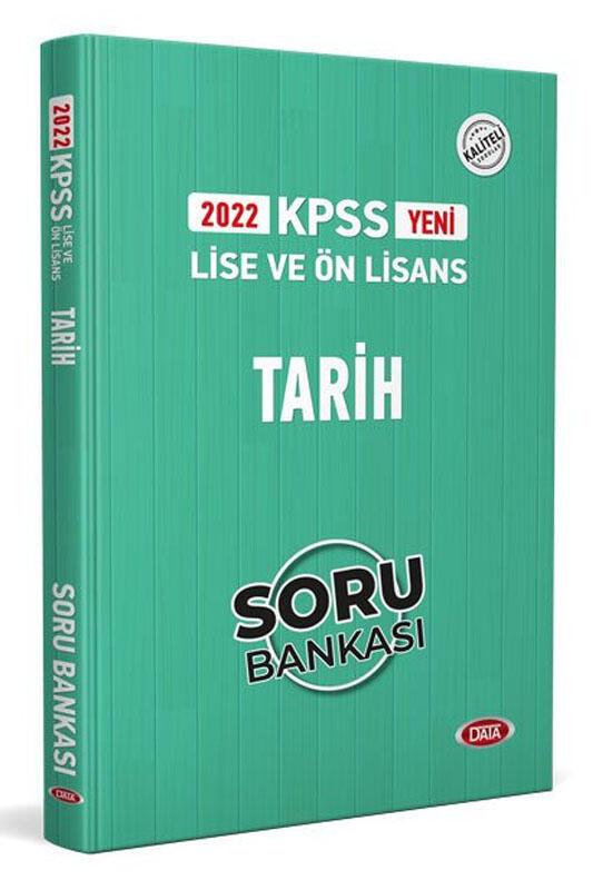 Data Yayınları 2022 KPSS Lise Ön Lisans Tarih Soru Bankası
