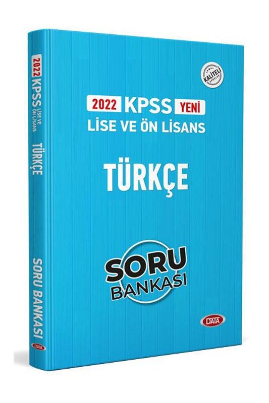 Data Yayınları 2022 KPSS Lise Ön Lisans Türkçe Soru Bankası