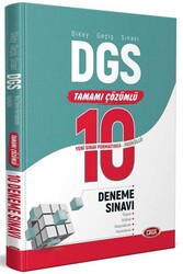 Data Yayınları - Data Yayınları DGS Tamamı Çözümlü 10 Fasikül Deneme Sınavı