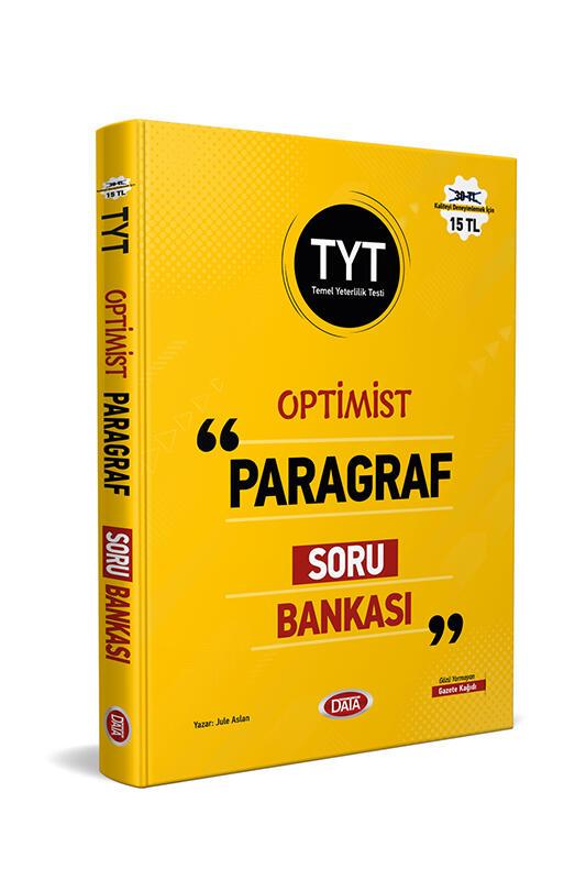 Data Yayınları TYT Optimist Paragraf Soru Bankası