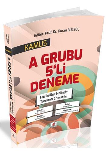 DB Yayıncılık 2021 KPSS A Grubu KAMUS 5 Deneme Çözümlü