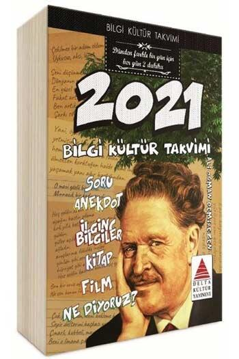 Delta Kültür Yayınları 2021 Bilgi Kültür Takvimi