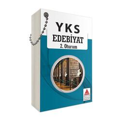 Delta Kültür Yayınları - Delta Kültür Yayınları AYT Edebiyat Kartları
