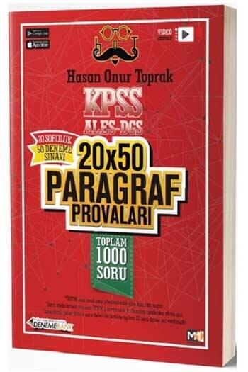 DenemeBank KPSS ALES DGS 20x50 Paragraf Provaları