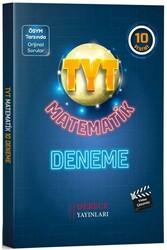 Derece Yayınları - Derece Yayınları TYT Matematik Video Çözümlü 10 Deneme
