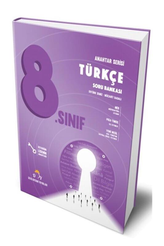 Ders Ortamı Yayınları 8.Sınıf LGS Türkçe Soru Bankası