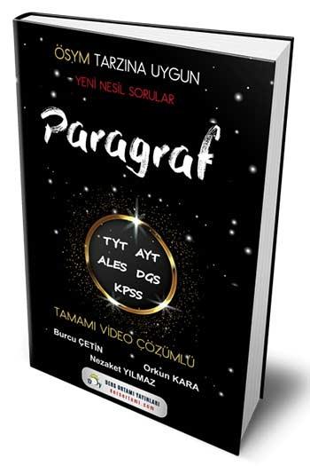 Ders Ortamı Yayınları TYT AYT ALES DGS KPSS Paragraf Çözümlü Yeni Nesil Sorular