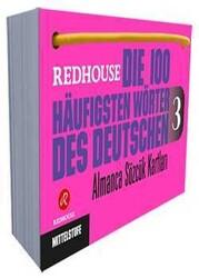 Redhouse Yayınevi - Die 100 Häufigsten Wörter des Deutschen 3 - Almanca Sözlük Kartları