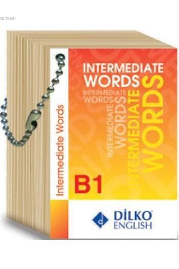 Dilko Yayıncılık Upper Intermediate Words Kelime Kartı B1
