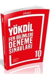 Dilko Yayıncılık - Dilko Yayıncılık YÖKDİL Fen Bilimleri 10 Deneme Sınavı