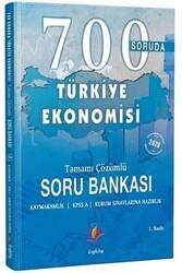 Dizgi Kitap - Dizgi Kitap 700 Soruda Türkiye Ekonomisi Tamamı Çözümlü Soru Bankası