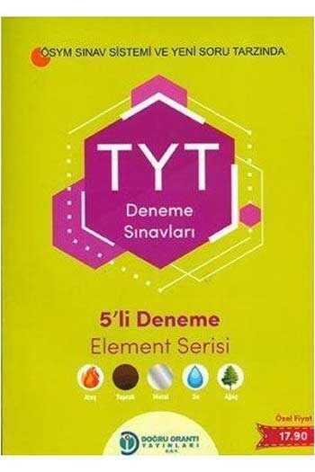 Doğru Orantı Yayınları TYT 5'li Deneme Sınavları