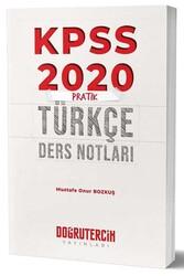 Doğru Tercih Yayınları - Doğru Tercih Yayınları 2020 KPSS Pratik Türkçe Ders Notları