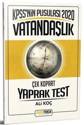 Doğru Tercih Yayınları - Doğru Tercih Yayınları 2020 KPSS'nin Pusulası Vatandaşlık Çek Kopart Yaprak Test