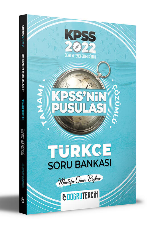 Doğru Tercih Yayınları 2022 KPSS'NİN Pusulası Türkçe Soru Bankası