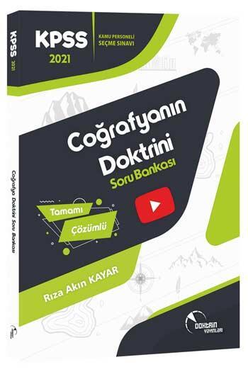 Doktrin Yayınları 2021 KPSS Coğrafya Tamamı Çözümlü Soru Bankası