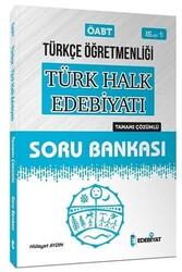 Edebiyat TV Yayınları - Edebiyat TV Yayınları 2020 ÖABT Türkçe Öğretmenliği Türk Halk Edebiyatı Çözümlü Soru Bankası