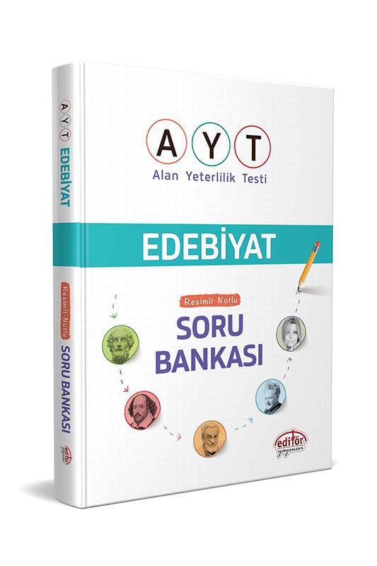 Editör Yayınevi AYT Edebiyat Resimli Notlu Soru Bankası