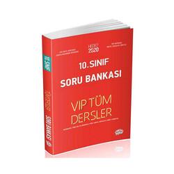 Editör Yayınevi - Editör Yayınları 10. Sınıf Tüm Dersler Soru Bankası Kırmızı Kitap