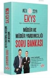 Editör Yayınevi - Editör Yayınları 2019 MEB EKYS Müdür ve Müdür Yardımcılığı Soru Bankası