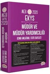 Editör Yayınevi - Editör Yayınları 2020 MEB EKYS Müdür ve Müdür Yardımcılığı Konu Anlatımlı Soru Bankası