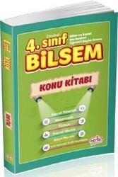 Editör Yayınevi - Editör Yayınları 4. Sınıf Bilsem Tüm Dersler Konu Kitabı