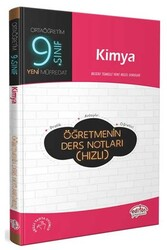 Editör Yayınevi - Editör Yayınları 9. Sınıf Kimya Öğretmenin Ders Notları (Hızlı)