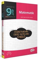 Editör Yayınevi - Editör Yayınları 9. Sınıf Matematik Öğretmenin Ders Notları (Hızlı)
