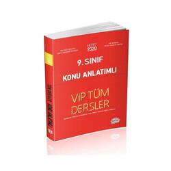 Editör Yayınevi - Editör Yayınları 9. Sınıf Tüm Dersler Konu Anlatımlı Kırmızı Kitap