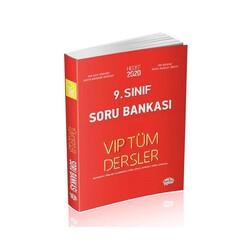 Editör Yayınevi - Editör Yayınları 9. Sınıf Tüm Dersler Soru Bankası Kırmızı Kitap