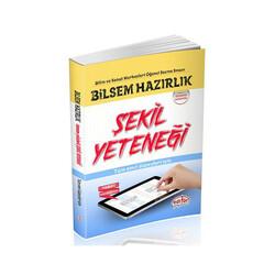 Editör Yayınevi - Editör Yayınları Bilsem Hazırlık Tamamı Çözümlü Şekil Yeteneği