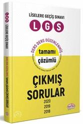 Editör Yayınevi - Editör Yayınları LGS Çıkmış Sorular ve Çözümleri