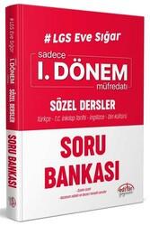 Editör Yayınevi - Editör Yayınları LGS Eve Sığar I. Dönem Sözel Dersler Soru Bankası