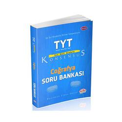 Editör Yayınevi - Editör Yayınları TYT Konsensüs Coğrafya Soru Bankası