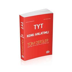 Editör Yayınevi - Editör Yayınları TYT Tüm Dersler Konu Anlatımlı Kırmızı Kitap