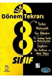Efsane Yayınları - Efsane Yayınları 8. Sınıf LGS Tüm Dersler İlk Dönem Tekrarı