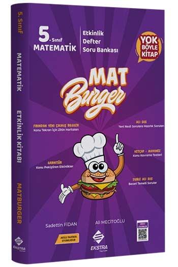 Ekstra Yayıncılık 5. Sınıf Matematik MatBurger Kitabı