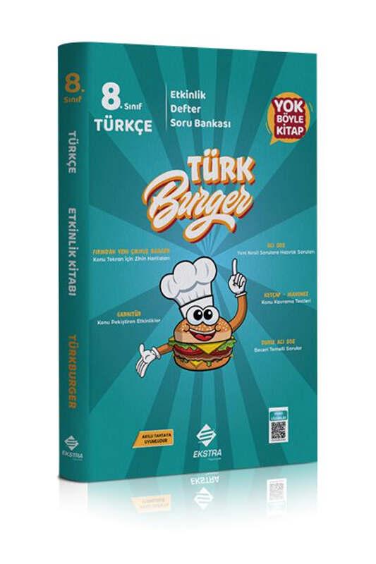 Ekstra Yayınları 8. Sınıf LGS Türkburger Türkçe Soru Bankası