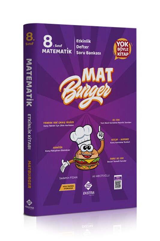 Ekstra Yayınları 8.Sınıf LGS Matburger Matematik Soru Bankası