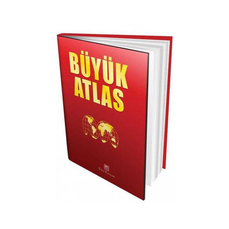 Ema Kitap Ciltli Büyük Atlas