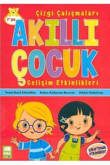 Ema Kitap Çizgi Çalışmaları Akıllı Çocuk Gelişim Etkinlikleri