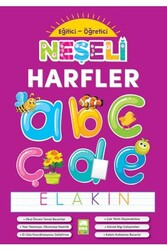 Ema Kitap - Ema Kitap Eğitici Öğretici Neşeli Harfler
