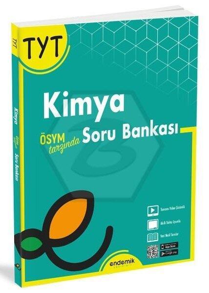 Endemik Yayınları 2022 TYT Kimya Soru Bankası