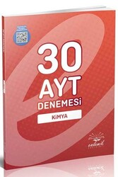 Endemik Yayınları - Endemik Yayınları AYT Kimya 30 Deneme