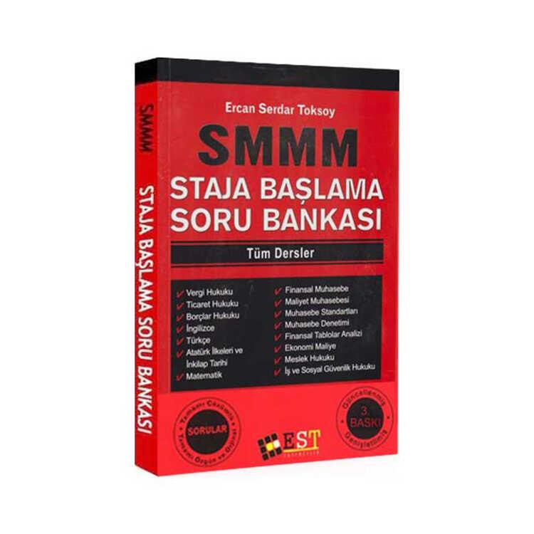 EST Yayınları SMMM Staja Başlama Tüm Dersler Soru Bankası