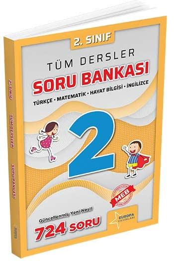 Europa Yayınları 2. Sınıf Tüm Dersler Soru Bankası