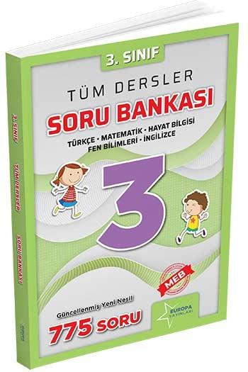 Europa Yayınları 3. Sınıf Tüm Dersler Soru Bankası