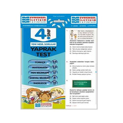 Evrensel İletişim Yayınları - Evrensel İletişim Yayınları 4. Sınıf Tüm Dersler Yaprak Testler