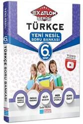 Evrensel İletişim Yayınları - Evrensel İletişim Yayınları 6. Sınıf Türkçe Video Çözümlü Soru Bankası (Exatlon Serisi)